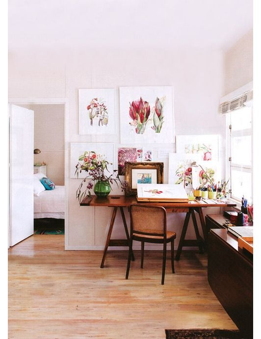 Home office design idea - Home and Garden Design Ideas