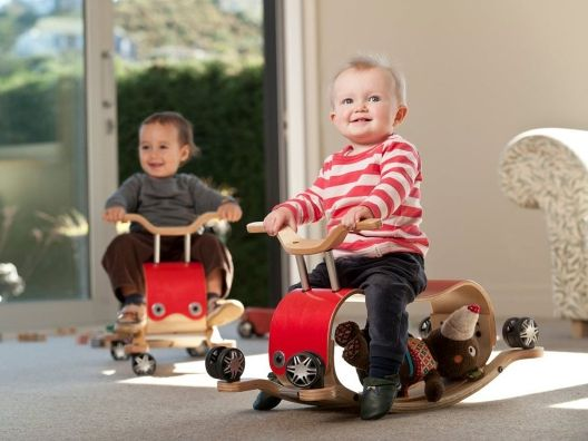 Flip Ride-On Toy by Wishbone... So cute and two toys in one!