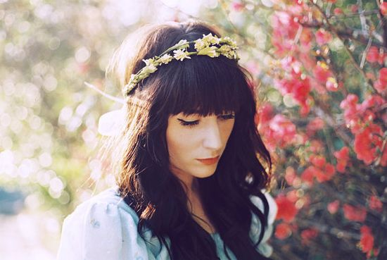 double flower crown