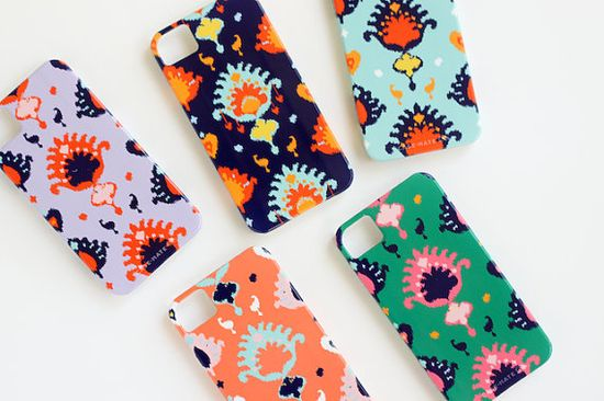 Custom Ikat Case for iPhone and Samsung by PencilShavingsStudio, $39.99