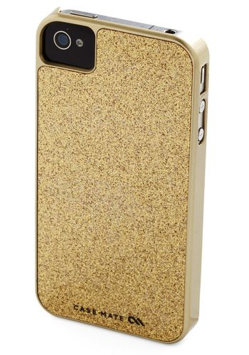 Gold the Phone iPhone Case