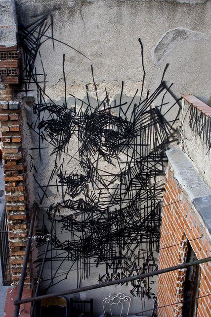 street art madrid crazyMADRID.com @TheCrazyCities