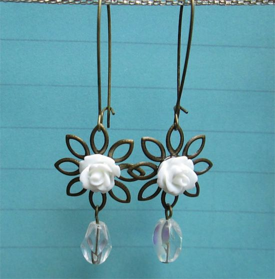 $9.00.  ROSES AND REFLECTIONS by MimiJewels on Etsy,  www.etsy.com/...