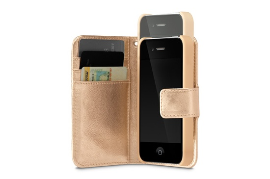 Leather Snapshot Clutch for iPhone 4S and iPhone 4 by Incase
