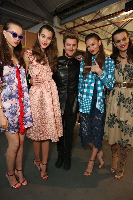 LFW S/S14 #StTropez #tan #tanning #InstantTan #HenryHolland #HouseofHolland #HOH #LFW #fashion #models #catwalk #frontrow