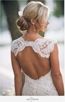 i could see @Kaitlyn Barger wearing this kind of back.. you have great shoulders for this dress