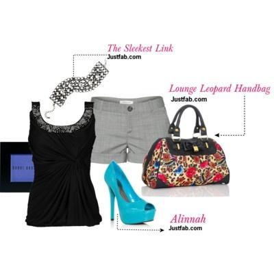 Lounge Leopard Handbag Iron Fist #shoes