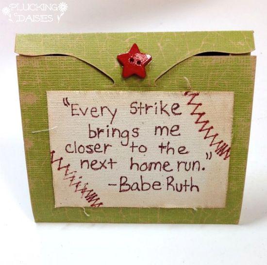 #baseball #cardholder #card #handmade #gift