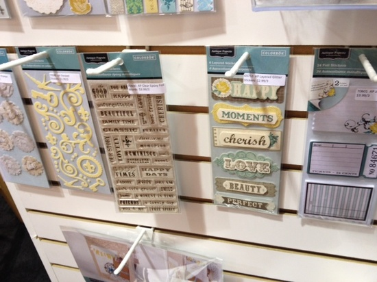 Brand New Colorbok Antique Paperie Collection - Scrapbook.com