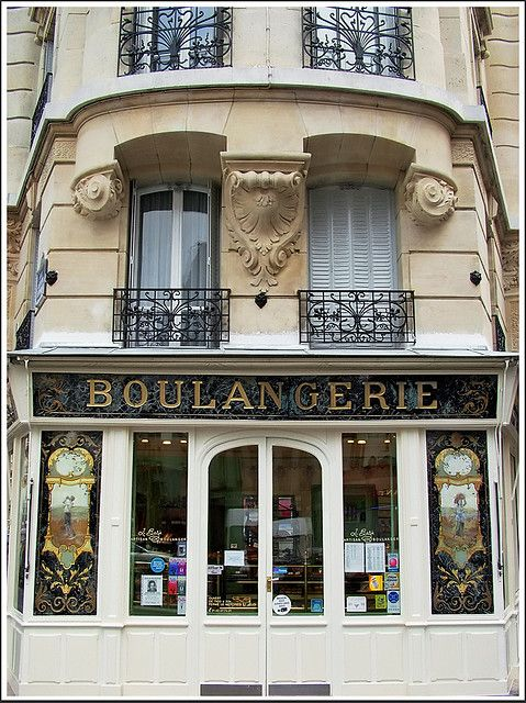 Boulangerie....omg this is the exact bakery we went to ALL the time in France. It was right on the corner by our building! Ahhh how I miss that place!