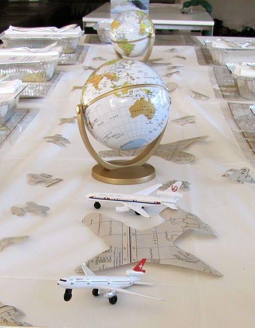 plane centerpieces