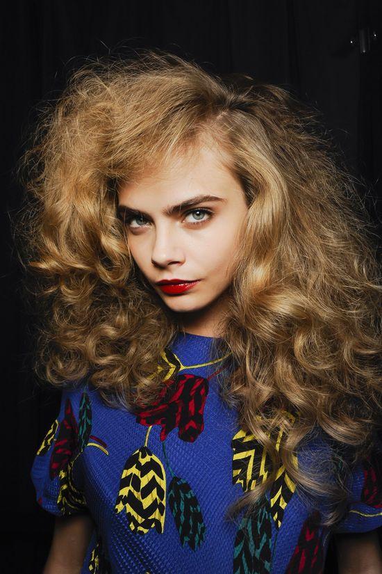 Backstage Hair: Autumn Winter 2013-14 Fashion Week Hairstyles (Vogue.com UK)