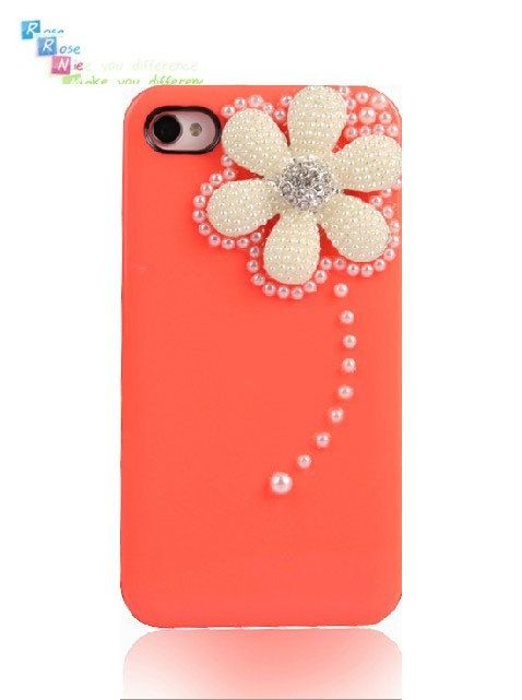 iPhone 4 case iPhone 4s case case for iPhone 4 mobile by RoseNie, $19.99