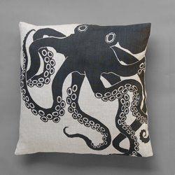 octopus pillow.