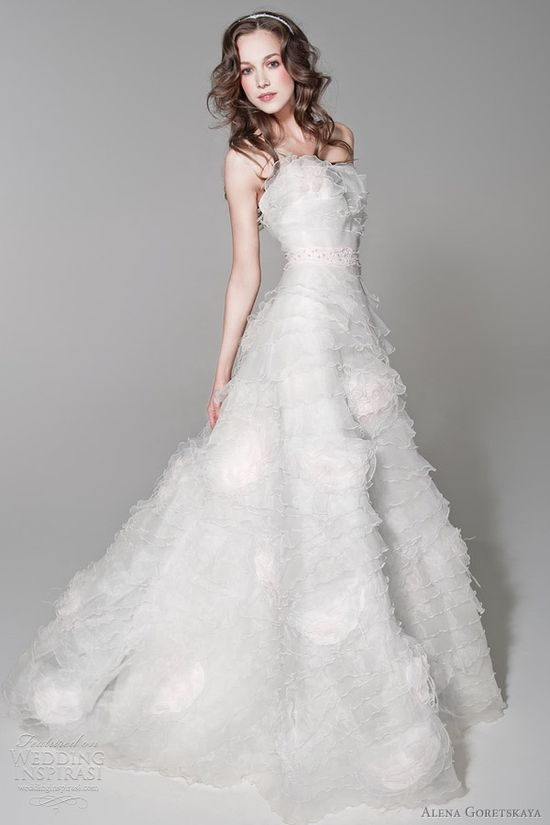 Alena Goretskaya Wedding Dresses 2012