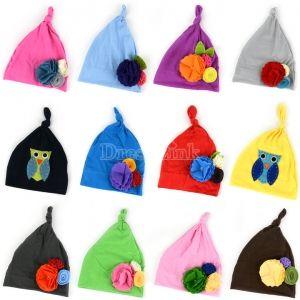 Handmade Flower Cap Cute Hat Baby Beanie Christmas Hat