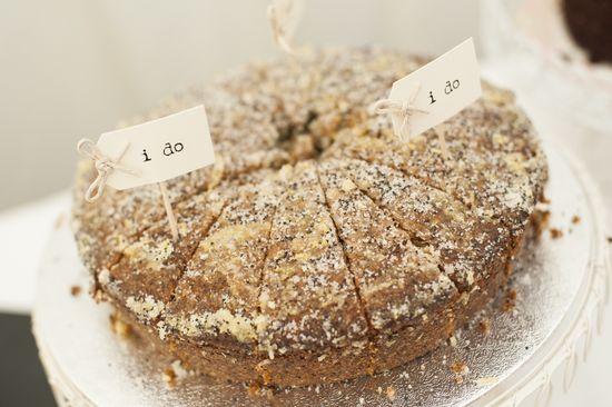 Dessert labels