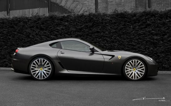 Ferrari Sports Car Dark Storm Gray