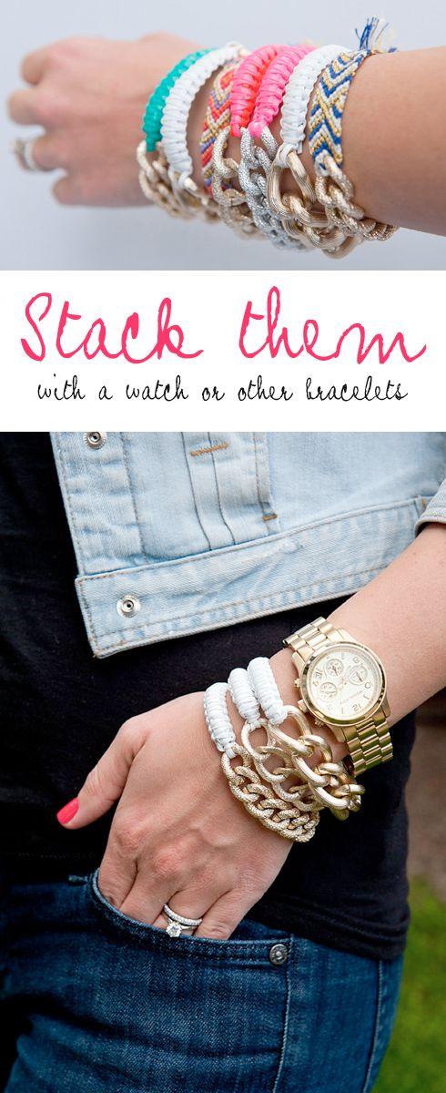 A new take on friendship bracelets
