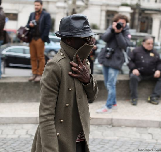 Men's Streetstyle Fashion Paris