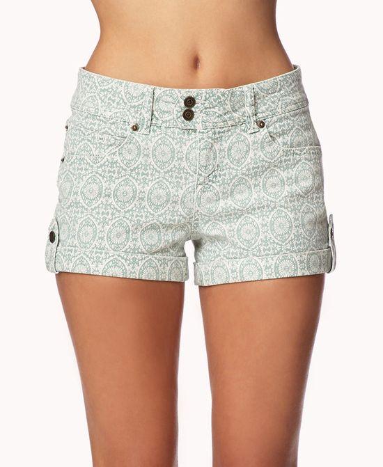 Life in Progress™ Boho Denim Shorts