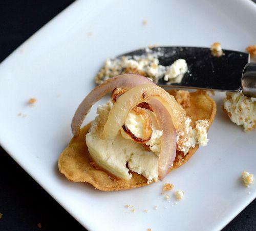 Savory onion dip