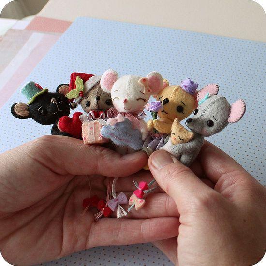 tiny mice