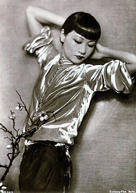 Anna May Wong. All velvet. All in.