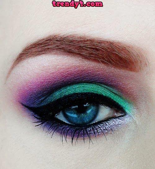 Tutorial Anime Eye Makeup 2014
