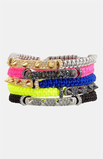 Vince Camuto Macramé Bracelet available at #Nordstrom
