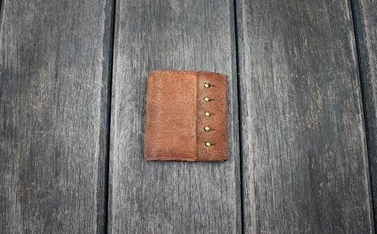 // handmade wallet Valentine's gift from my new ETSY BLOG post: www.etsy.com/...