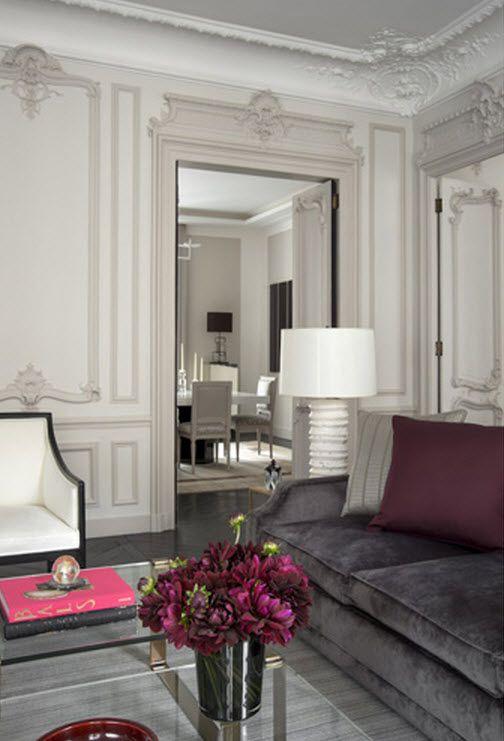 Parisian elegance, interior design