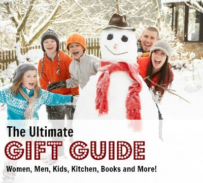 Gift ideas for everyone on your list. Over 50 ideas for men, women, kids and more!