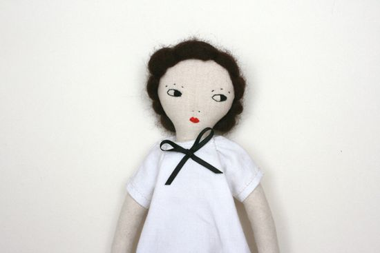 le train fantome: handmade dolls
