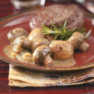 Italian Mushrooms Recipe