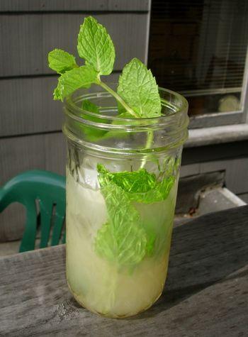 Lemonade Mojito--skip the vodka for non-alcoholic :) itunes.apple.com/...