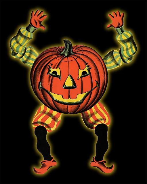 Beistle Halloween Goblin diecut