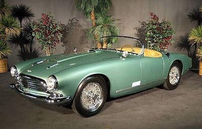 1957 Aston Martin DB2/4 Spider