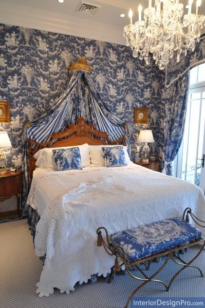 Lovely in blue and white toile