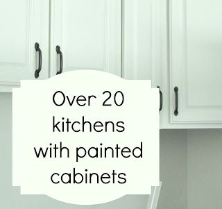 Kitchens with Painted cabinets,Over 20 kitchens!
