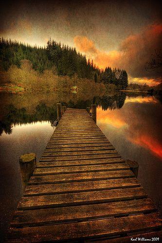 Loch Ard, Trossachs, Scotland.