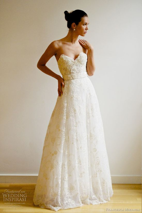 francesca miranda bridal spring 2013 rubie wedding dress