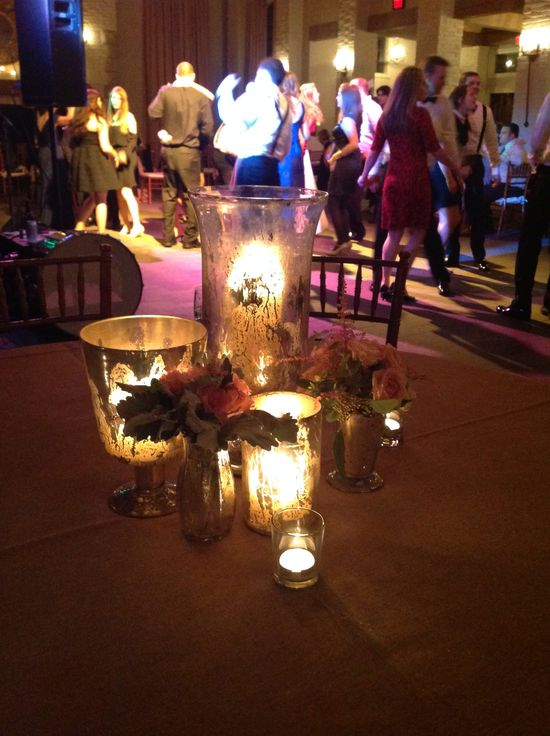 Table arrangements #wedding #reception #vineyard #winery #decorations earlymountain.com