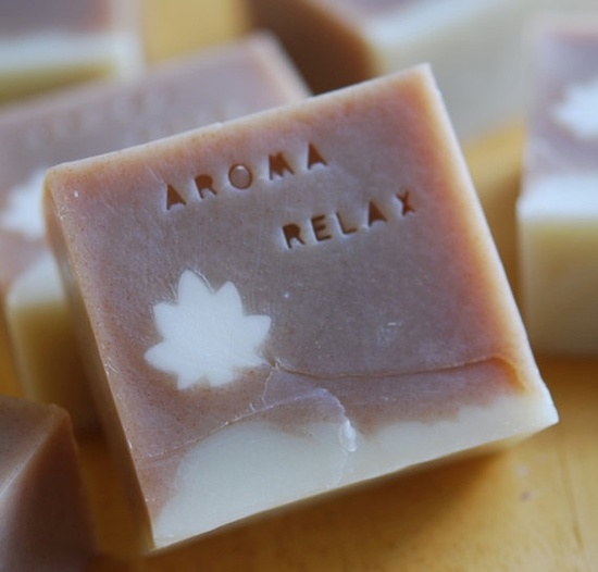 Beautiful handmade soap.