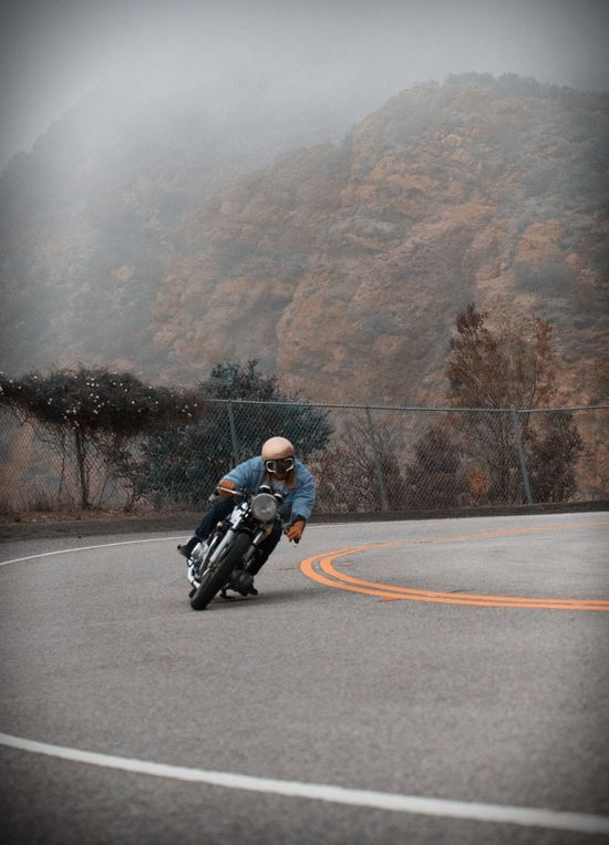 Doin' the Ton..  #CafeRacer