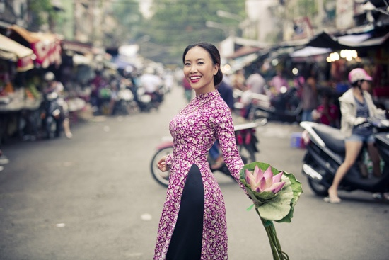 Beautiful ao dai