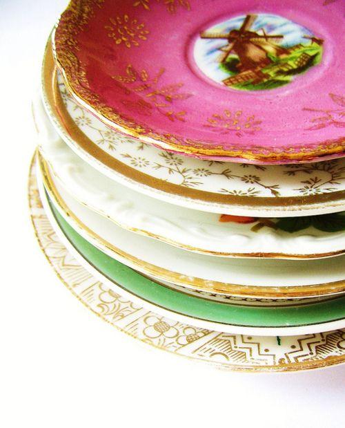 color plates + entertaining boho style