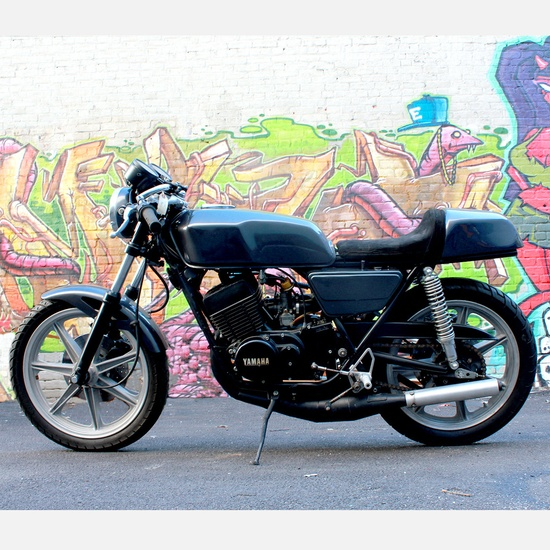 1976 Yamaha RD400 Motorcycle