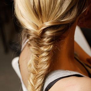 fish tail braid!