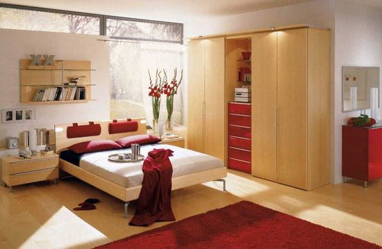 Red Master Bedroom Decor